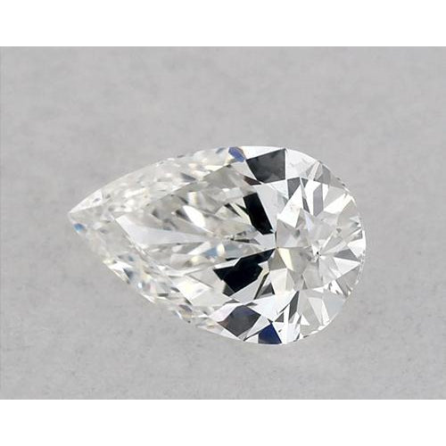 0.50 Carats Pear Diamond loose H VVS1 Very Good Cut