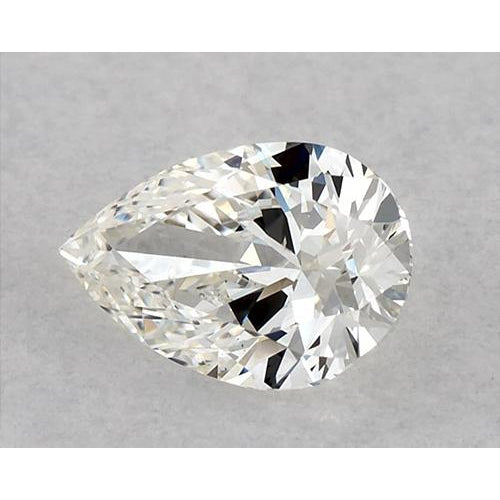 0.50 Carats Pear Diamond Loose E Vvs1 Very Good Cut Diamond