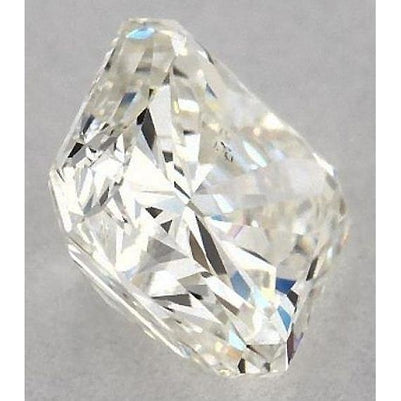 Diamond 3.25 Carats Radiant Diamond Loose G Si1 Good Cut