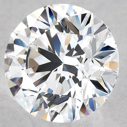 E Vvs1 Loose Diamond 4.05 Ct. Big Round Ideal Cut