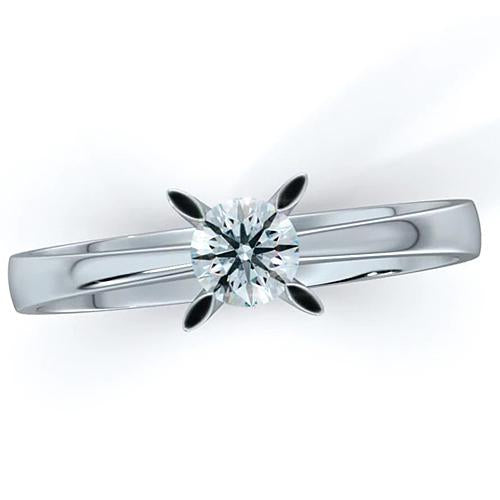 Solitaire Diamond Ring 1 Carat Classic Women Jewelry Solitaire Ring