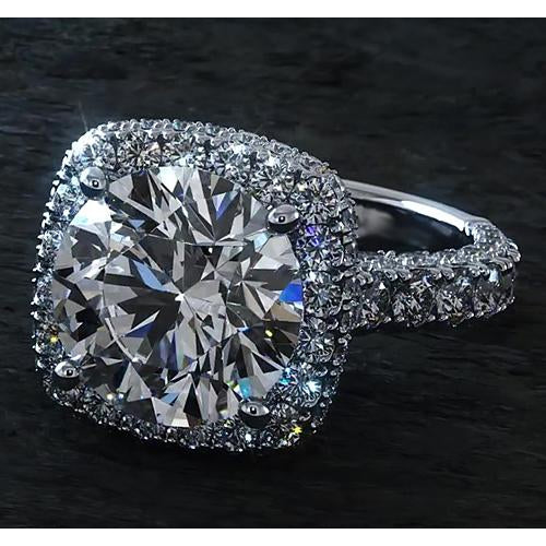3 Carat Halo Diamond Ring Halo Ring