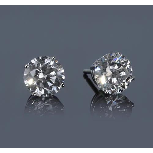 2 Carats Diamond Stud Earring