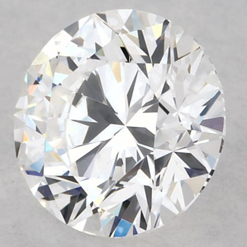 0.75 Carats Round Loose Diamond F Vs1