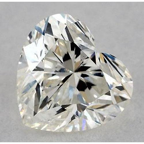 Diamond 0.50 Carats Heart Diamond Loose I Vs1 Very Good Cut