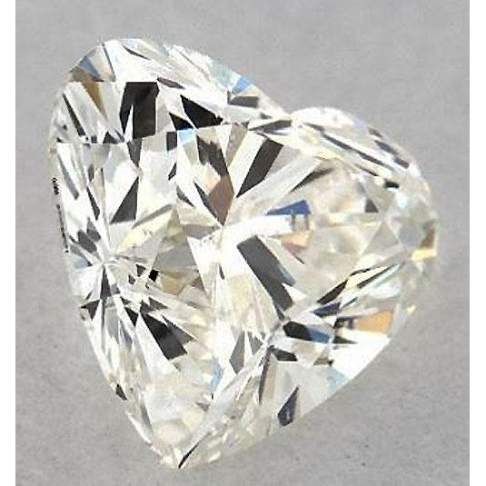 Diamond 0.75 Carats Heart Diamond Loose I Si1 Good Cut