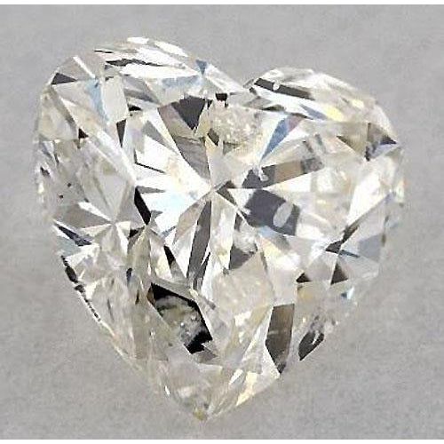 Diamond 0.75 Carats Heart Diamond Loose K Si1 Good Cut