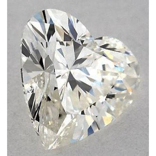 Diamond 2.25 Carats Heart Diamond Loose D Vs2 Very Good Cut