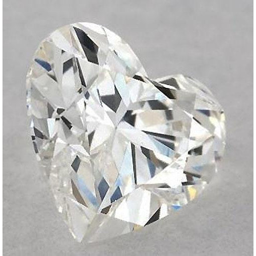 Diamond 2.5 Carats Heart Diamond Loose G Vs2 Very Good Cut