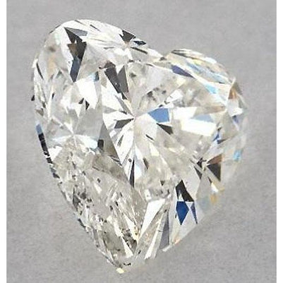 Diamond 3 Carats Heart Diamond Loose F Si1 Good Cut