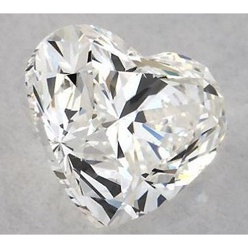 Diamond 3.25 Carats Heart Diamond Loose F Vs1 Very Good Cut