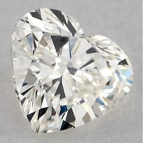 Diamond 4 Carats Heart Diamond Loose E Vvs1 Very Good Cut
