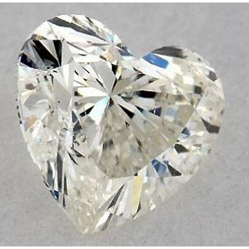 Diamond 1.75 Carats Heart Diamond Loose F Si1 Good Cut