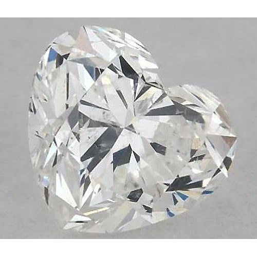 Diamond 2 Carats Heart Diamond Loose F Si1 Good Cut