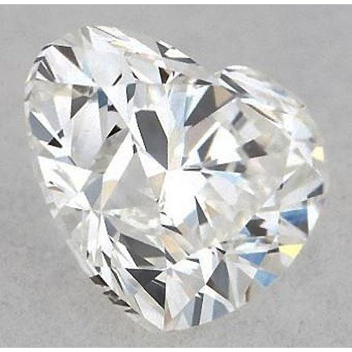 Diamond 3 Carats Heart Diamond Loose E Vvs1 Very Good Cut