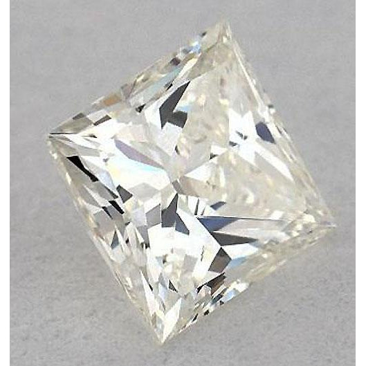Diamond 1.5 Carats Princess Diamond Loose J Si1 Very Good Cut