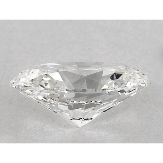 Diamond 5.5 Carats Oval Diamond Loose I Si1 Good Cut