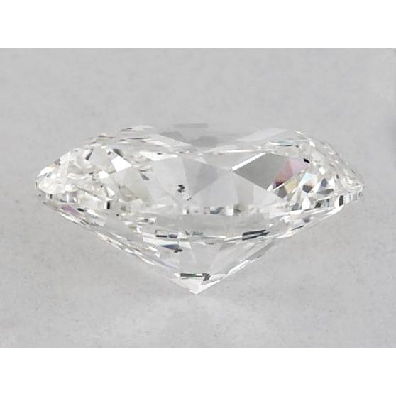 Diamond 5.5 Carats Oval Diamond Loose F Si1 Good Cut