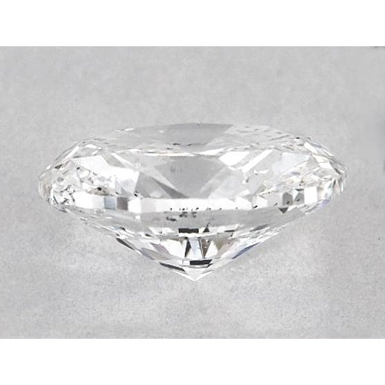 Diamond 6.5 Carats Oval Diamond Loose G Si1 Good Cut