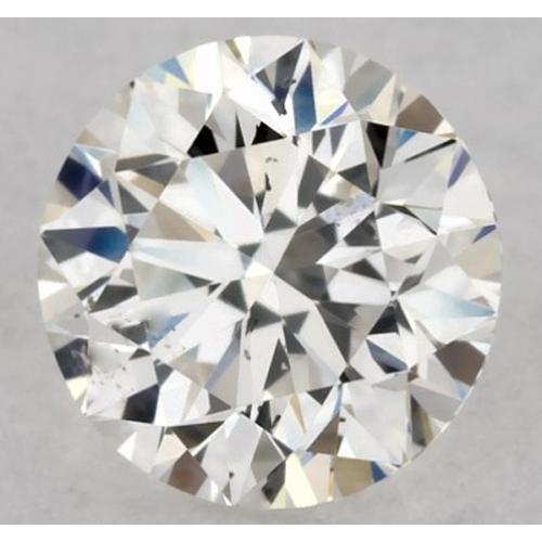 2.75 Carats Round Diamond K SI1 Very Good Cut loose