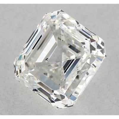 2.75 Carats Asscher Diamond loose J VS2 Good Cut