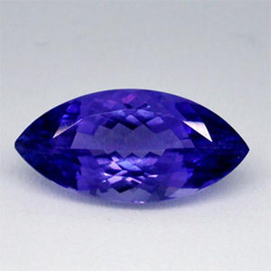 Approx. 3 Carats Aaa Natural Marquise Cut Loose Tanzanite Gemstone Gemstone Loose