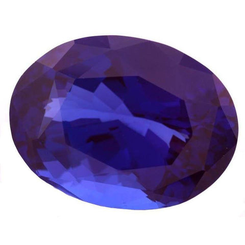 Approx. 4 Carats Aaa Oval Cut Natural Loose Tanzanite Gemstone Gemstone Loose