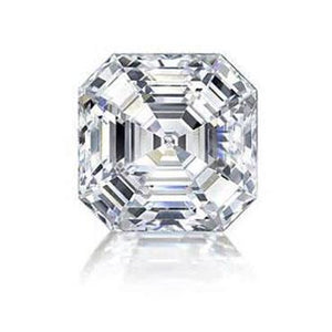 Asscher Cut Sparkling 2.75 Carat G Si1 Loose Diamond New Diamond