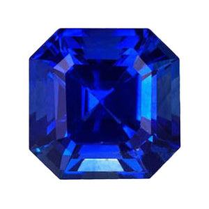 Asscher Cut Tanzanite Approx. 3 Carat Natural Aaa Loose Tanzanite Gemstone Gemstone Loose