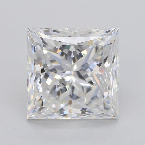 Big 3.75 Carat Princess Cut Sparkling G Si1 Loose Diamond New Diamond