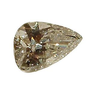 Big 4 Carat Loose Diamond Pear Cut Loose J Si1 Diamond Diamond
