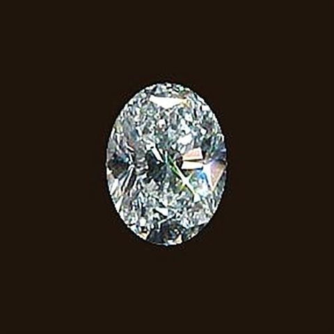 Big Diamond 3.01 Carat Oval Cut Loose Diamond Diamond