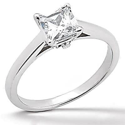 Diamond 1.2 Ct. Engagement Solitaire Ring F Vs1 Jewelry Solitaire Ring