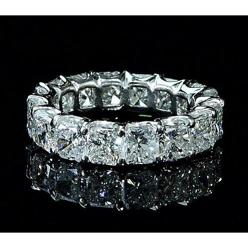 Diamond Eternity Band 7.50 Carats F Vs1 White Gold 14K Eternity Band
