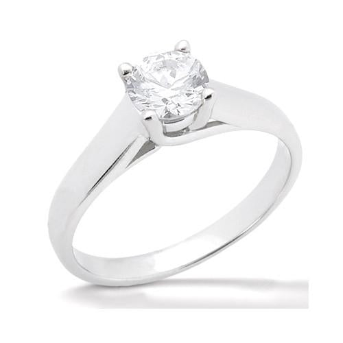 Diamond F Vs1 Solitaire 1.01 Ct. Jewelry Engagement Ring Solitaire Ring