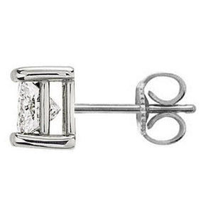 E Vvs1 Diamond Single 1.50 Ct. Stud Men Earring Gold Single Stud