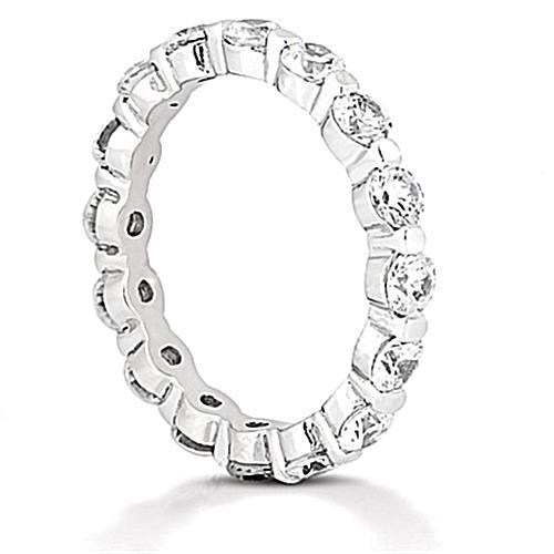 F Vs1 1.6 Ct Diamond Eternity Wedding Band Eternity Band