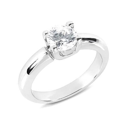 F Vs1 Diamonds 1.75 Ct. Engagement Ring Solitaire Solitaire Ring