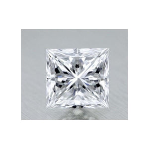 G Si 2.50 Carat Sparkling Princess Cut Loose Diamond Diamond