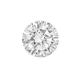 G Si 2.51 Carats Round Cut Natural Loose Diamond Diamond
