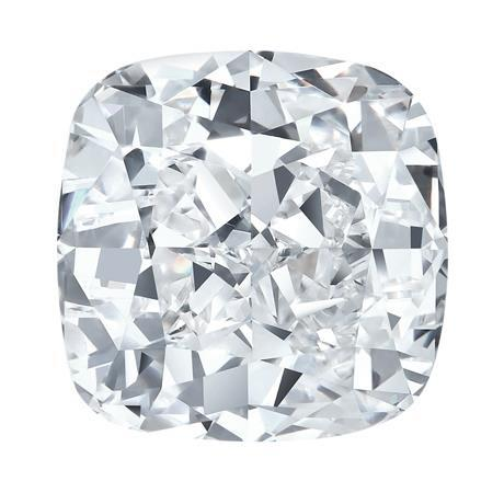 G Si1 Cushion Cut Sparkling 3.75 Carat Loose Diamond New Diamond