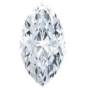 G Si1 Marquise Cut Natural Loose Diamond 3 Carats Sparkling Diamond