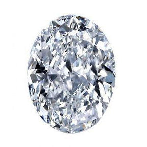 G Si1 Sparkling 2.50 Carat Oval Cut Big Loose Diamond New Diamond