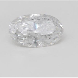 G Si1 Sparkling Oval Cut Big 3.75 Carat Loose Diamond New Diamond