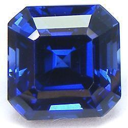 Gemstone Asscher Cut Aaa Natural Loose Tanzanite Approx. 4 Carats Gemstone Loose
