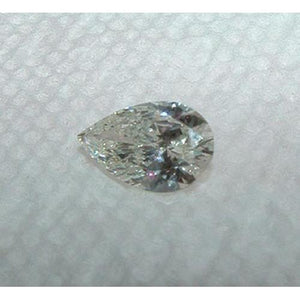 Genuine Diamond Loose Pear Cut 2.01 Carat Diamond Diamond