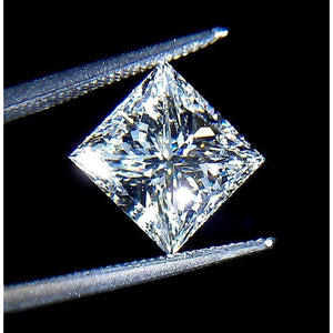 Gorgeous Princess Cut 2.51 Carats Loose Diamond F Vs1 Loose Diamond