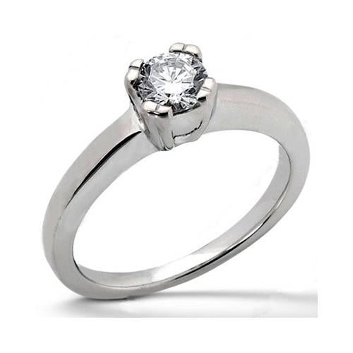 High Quality Diamond Solitaire Gold 3.0 Ct.Engagement Ring Solitaire Ring