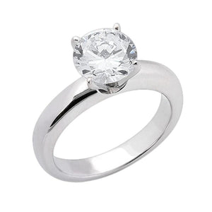 Huge 3 Carat Sparkling G Vs1 Diamond Solitaire Ring White Gold New Solitaire Ring
