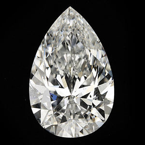 Loose Diamond 2.51 Carat Pear Cut Diamond Loose Diamond